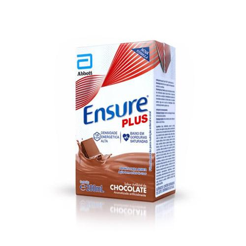 SUPLEMENTO LÍQUIDO ENSURE PLUS CHOCOLATE 200ML